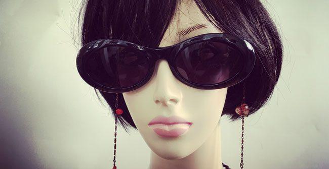 ネックレスみたいなおしゃれな眼鏡チェーン